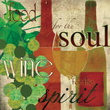 Wine for the Spirit Art by Carol Robinson