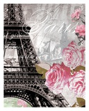 Paris in Bloom I - Mini Prints by Natalie Alexander