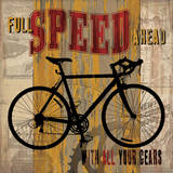 Full Speed Ahead Prints by Maria Donovan