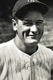 Lou Gehrig Autograph Sports Poster Photo