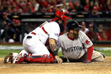 St. Louis, MO - Oct 28: 2013 World Series Game 5, Red Sox v Cardinals Photographic Print by  Rob Carr