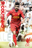 Liverpool - Coutinho 2013/2014 Posters