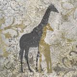 Giraffes Exotiques Print by Katrina Craven