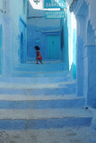 Chefchaouen Girl Photographie