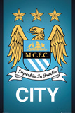 Manchester City - Crest Poster