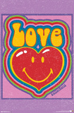 Love Smiley World Posters