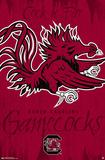 University of South Carolina Gamecocks Logo Poster