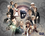 Doctor Who Doctors Collage TV Poster Card Posters