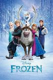 Frozen Cast Photographie
