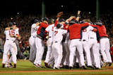 Boston, MA - Oct 30: 2013 World Series Game 6, Red Sox v Cardinals Photographic Print by  Rob Carr