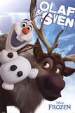 Frozen-Il regno di ghiaccio Olaf e Sven Poster