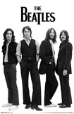 The Beatles Black and White Posters
