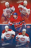 Montreal Canadiens Team Posters