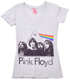 Juniors: Pink Floyd - DSOTM Band in Prism - T-shirt