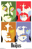 The Beatles Sea of Science Posters