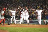 Boston, MA - Oct 30: 2013 World Series Game 6, Red Sox v Cardinals - Jonny Gomes Fotografisk tryk af Rob Carr