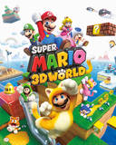 Nintendo - Mario 3d World Poster