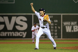 Boston, MA - Oct 30: 2013 World Series Game 6, Red Sox v Cardinals - Koji Uehara Photographic Print by Jamie Squire
