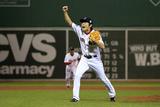 Boston, MA - Oct 30: 2013 World Series Game 6, Red Sox v Cardinals - Koji Uehara Photographic Print by Jamie Squire