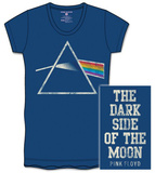 Juniors: Pink Floyd - DSOTM Back Print - T-shirt
