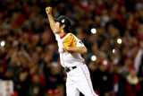 Boston, MA - Oct 30: 2013 World Series Game 6, Red Sox v Cardinals - Koji Uehara Photographic Print by  Elsa