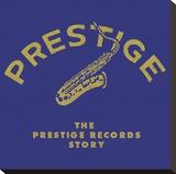 Prestige (Logo) Stretched Canvas Print