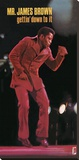 James Brown (Getting' Down To It) Reproduction transférée sur toile