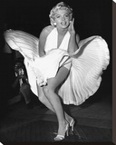 Marilyn Monroe (Seven Year Itch) Stretched Canvas Print