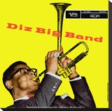 Dizzie Gillespie (Big Band) Stretched Canvas Print