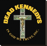 Dead Kennedys (In God We Trust) Stretched Canvas Print
