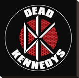 Dead Kennedys (Logo) Stretched Canvas Print