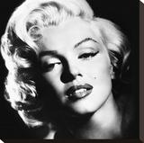 Marilyn Monroe (Glamour) Trykk på strukket lerret