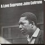 John Coltrane, A Love Supreme Stretched Canvas Print