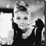 Audrey Hepburn, Breakfast at Tiffanys Lærredstryk på blindramme