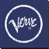 Verve (Logo) Stretched Canvas Print