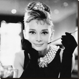 Audrey Hepburn, Breakfast at Tiffanys Reproduction sur toile tendue