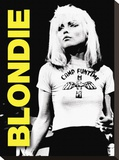 Blondie, Live Stretched Canvas Print