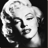 Marilyn Monroe (Glamour) Stretched Canvas Print