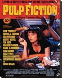 Pulp Fiction (Cover) Stretched Canvas Print