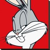 Bugs Bunny Reproducción en lienzo de la lámina