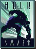 Hulk Stretched Canvas Print