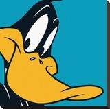 Pato Lucas|Daffy Duck Reproducción en lienzo de la lámina