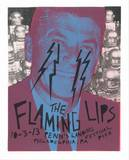 The Flaming Lips Sérigraphie par  Print Mafia