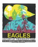 Eagles - History of the Eagles Tour Sérigraphie par  Print Mafia