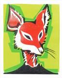 Mr. Fox Sérigraphie par  Print Mafia