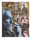 Don't Try - Bukowski Serigraph by  Print Mafia