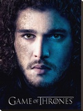Game Of Thrones (Season 3 - Jon)   Stretched Canvas Print