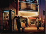 Midnight Matinee Stretched Canvas Print by Chris Consani