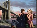 Brooklyn Nights Reproduction transférée sur toile par Chris Consani