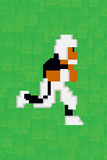 Tecmo Super Bo 8-bit Hall of Fame Posters